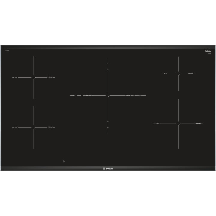 Bosch 'Series 8' 90cm Induction Built-in Cooktop in Black