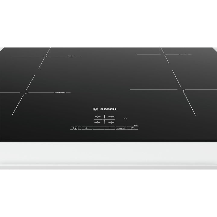 Bosch 'Series 4' 60cm Built in Induction Cooktop in Black