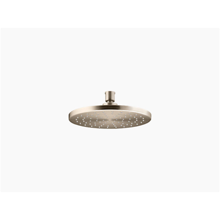 "Shower accessory - Over head shower - Katalyst - 8"" Contemporary round - 2.5 gpm rain..."