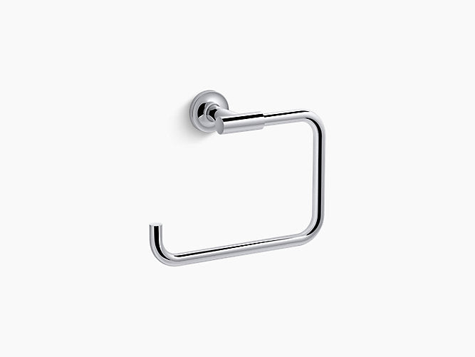 Purist - Towel ring - Polished chrome