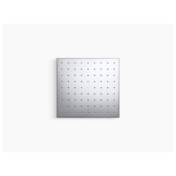 "Shower accessory - Over head shower - Katalyst - 10"" Contemporary square 2.5 gpm rainhead with air induction technology - Polished chrome"