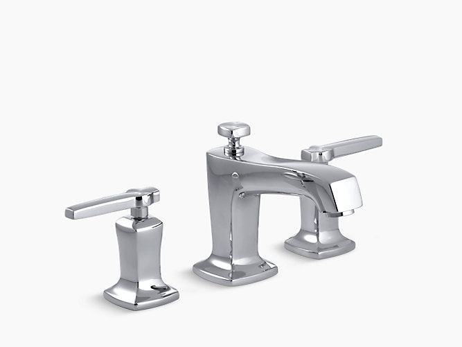 Sink mixer - Margaux - Widespread with lever handles - Polished chrome