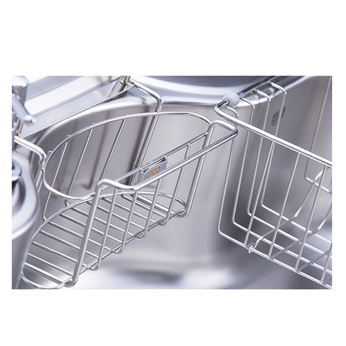 Hans - Stainless steel kitchen sink 850 x 510 mm