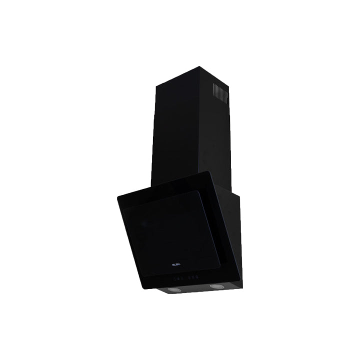 Elba 60cm Black Decorative Hood