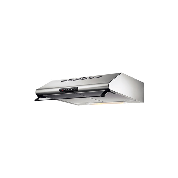 Elba 60cm Flat Hood in Stainless Steel