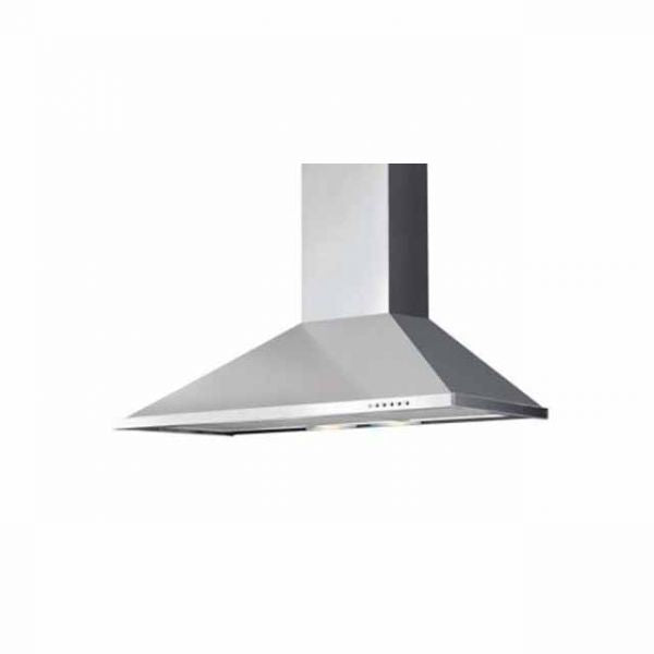 Elba 60cm Built-in Chimney hood in Silver