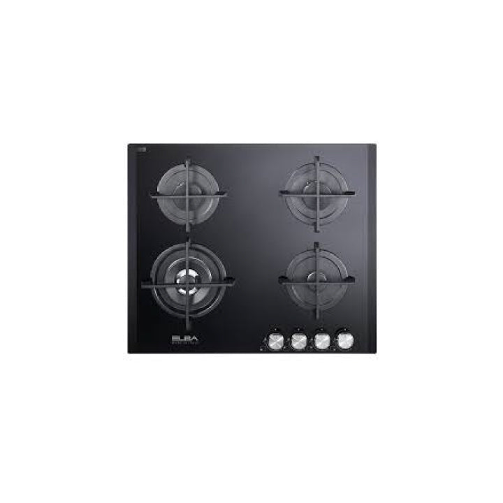 Elba 60cm Built in Gas Hob in Black