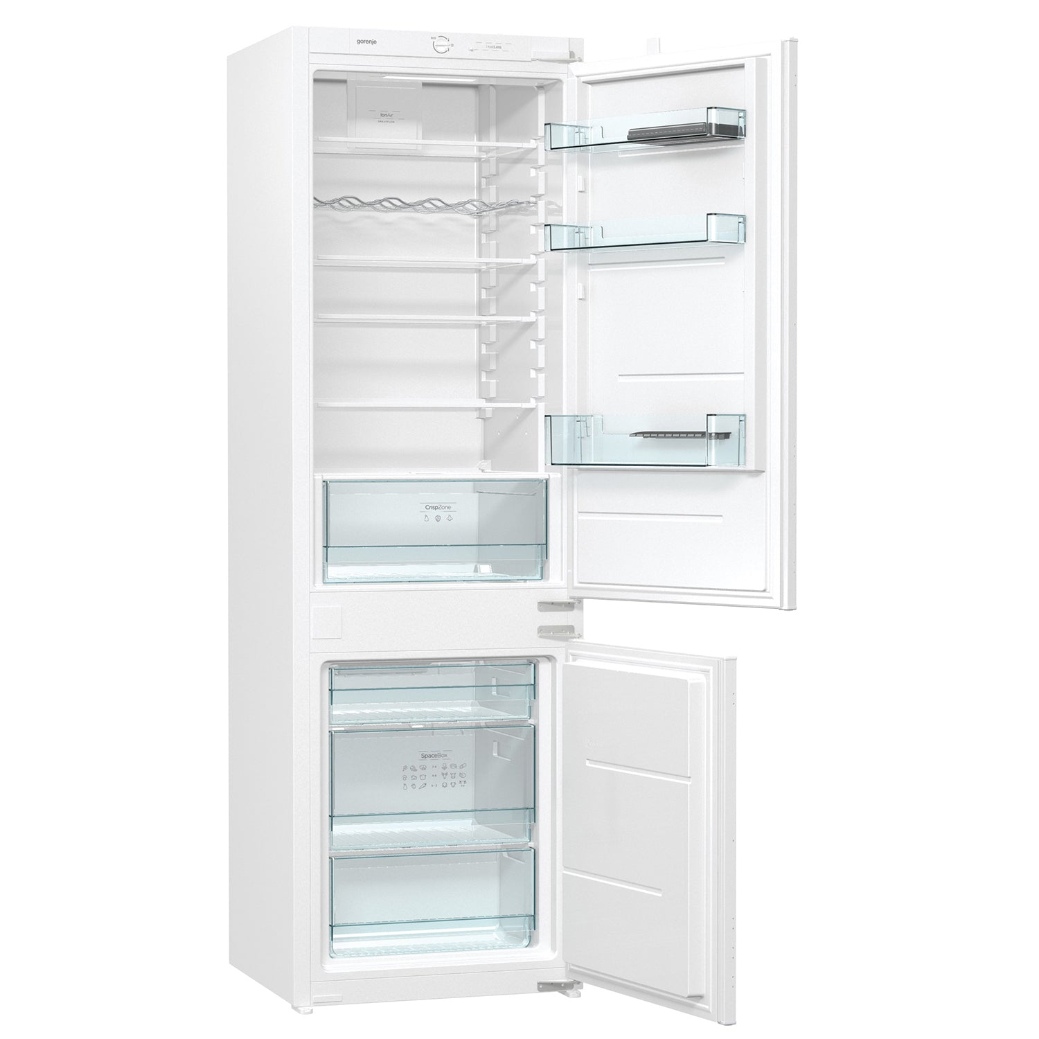 Gorenje 258L(9.1cu.ft) Built-in Refrigerator with Freezer in White