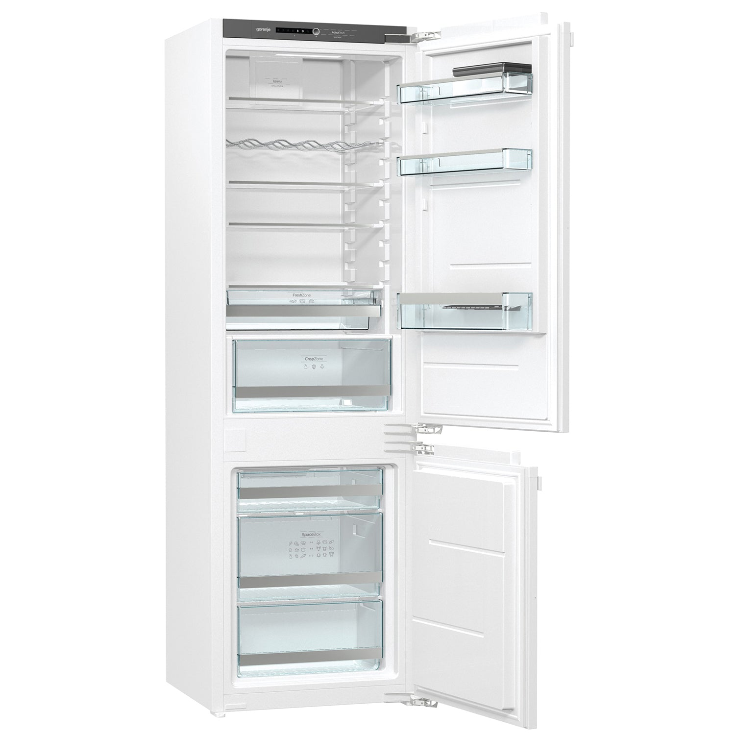 Gorenje 248L(8.8cu.ft) Built-in Refrigerator with Freezer in White