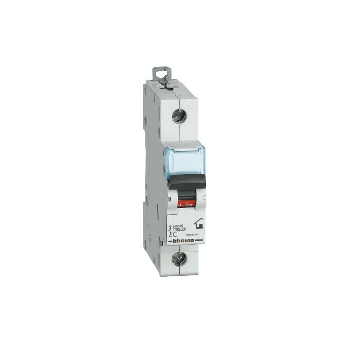 Bticino Circuit Breakers 4.5 K 16 A One Pole 230/400 VAC Curva C