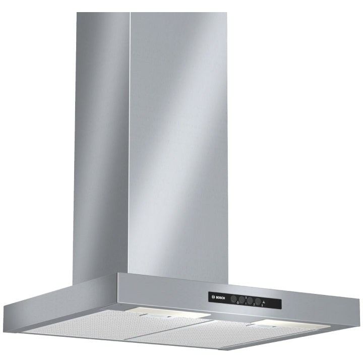 Bosch 'Series 2' 60cm Wall Mounted Cooker Hood in Silver