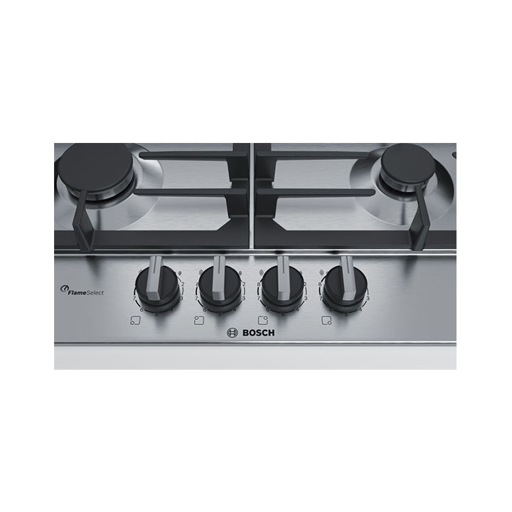 Bosch 'Series 6' 60cm Built-in Gas Hob in Stainless Steel
