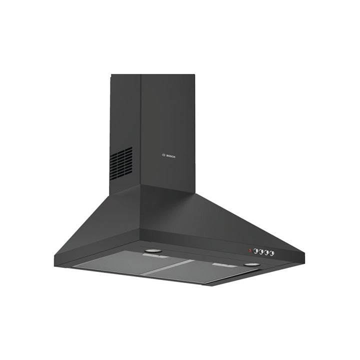 Bosch 'Series 8' 60cm Wall Mounted Extractor Hood in Black