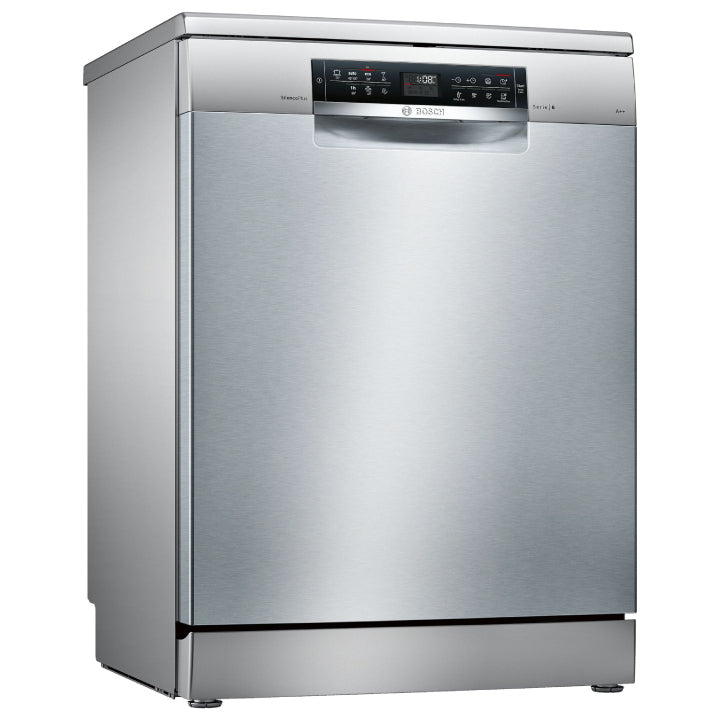 Bosch 'Series 6' 60cm Free Standing Dishwasher in Stainless Steel