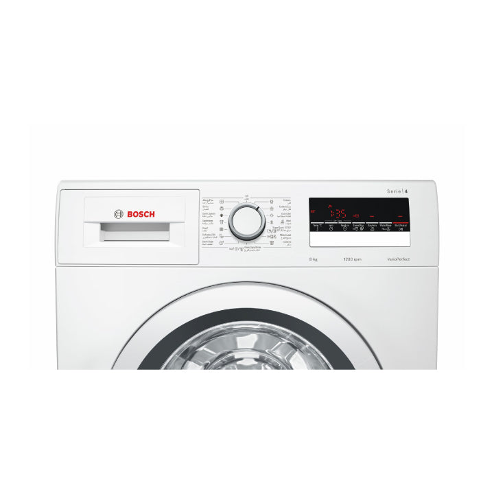 Bosch 'Series 4' 8kg Front Loader Washing Machine in White