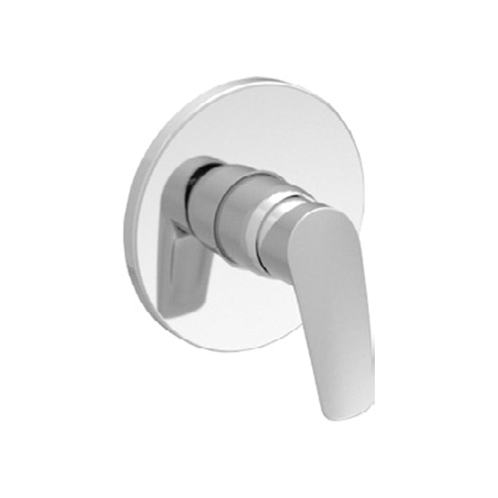 Duravit 'A.102' Single Lever Shower Mixer for Concealed Installation in Chrome