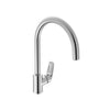 Duravit 'A.102' Single Lever Kitchen Mixer in Chrome