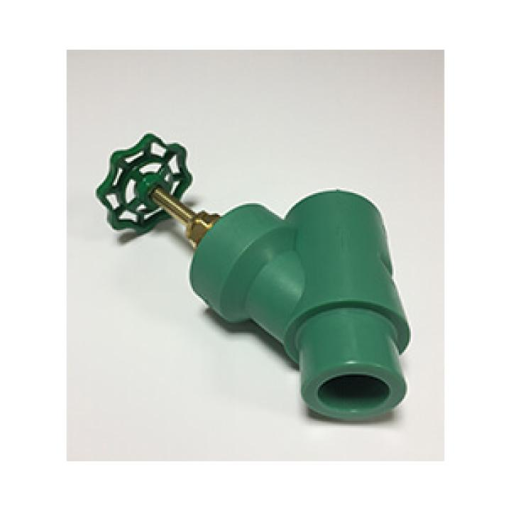 BR - PPR Water supply fitting - Y Valve with Green Handle