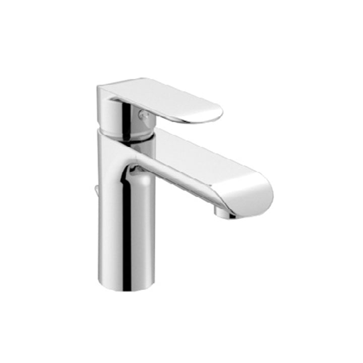 Duravit 'B.102' S Size Single Lever Basin Mixer in Chrome
