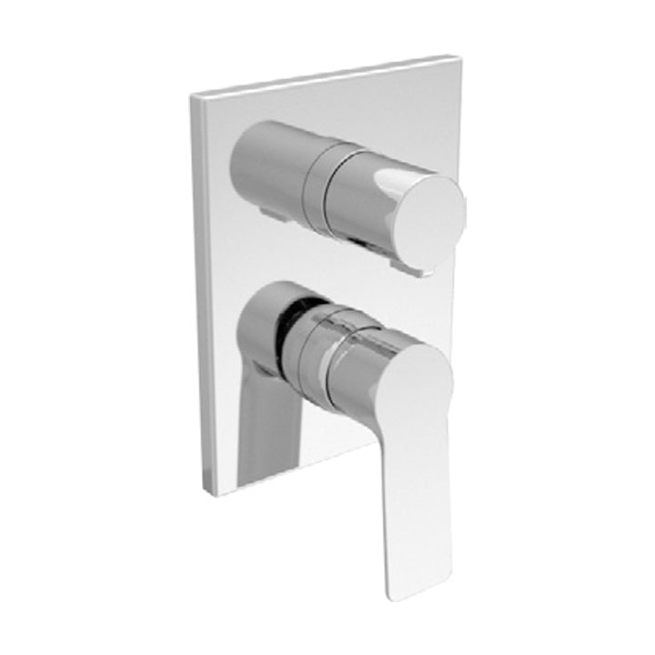 Duravit 'B.101' 4 Function Single Lever Mixer for Concealed Installation in Chrome