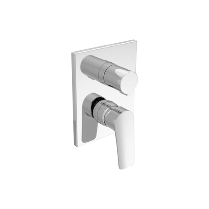Duravit 'A.103' 4 Function Single Lever Mixer for Concealed Installation in Chrome