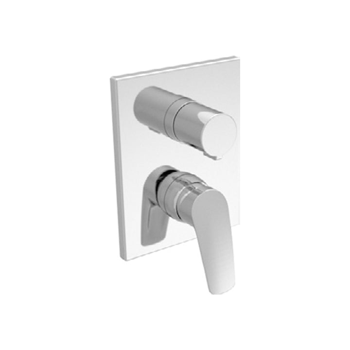 Duravit 'A.102' 4 Function Single Lever Mixer for Concealed Installation in Chrome