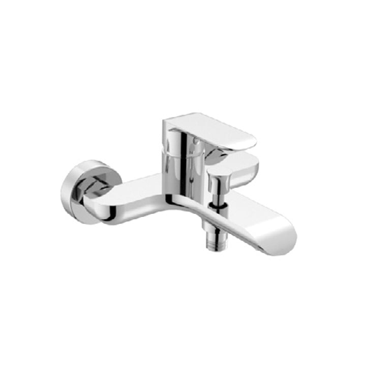 Duravit 'B.102' Single Lever Bath Mixer in Chrome