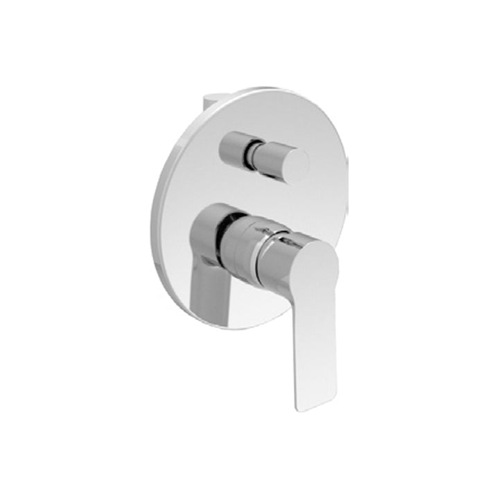 Duravit 'B.101' Single Lever Bath Mixer for Concealed Installation in Chrome