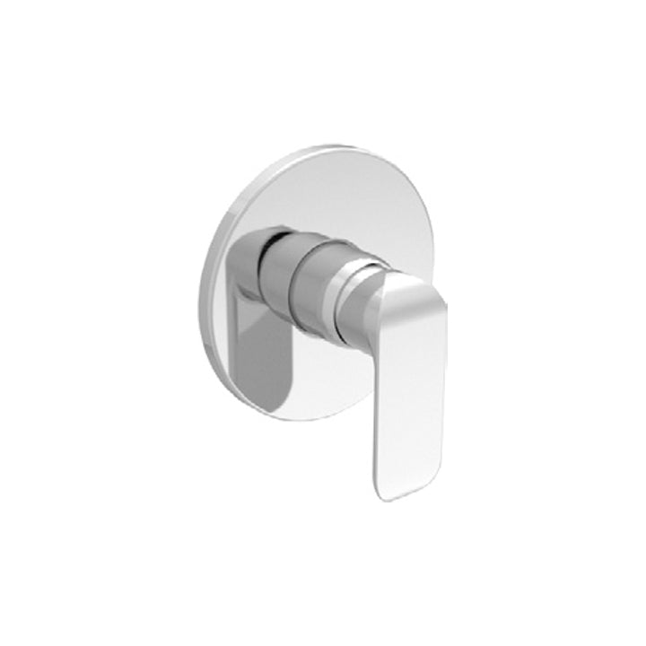 Duravit 'B.102' Single Lever Shower Mixer for Concealed Installation in Chrome