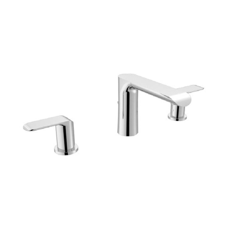 Duravit 'B.102' 3 Hole Basin Mixer in Chrome