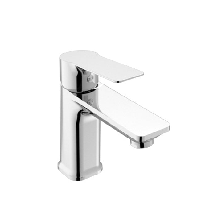 Duravit 'B.101' S Size Single Lever Basin Mixer in Chrome