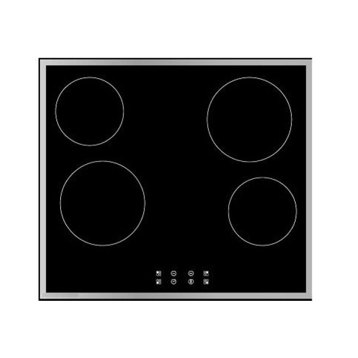 White Westinghouse Built In Vitro Ceramic Electric Hob 60 cm