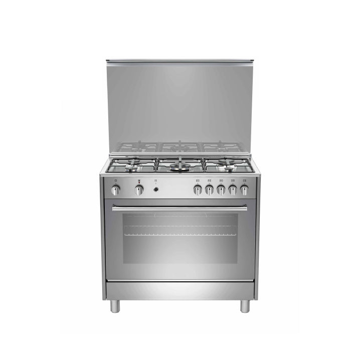 White Westinghouse 90 cm Cooker in Silver