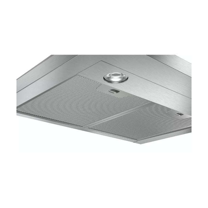 Bosch 'Series 2' 60cm Wall-mounted Extractor Hood in Stainless steel