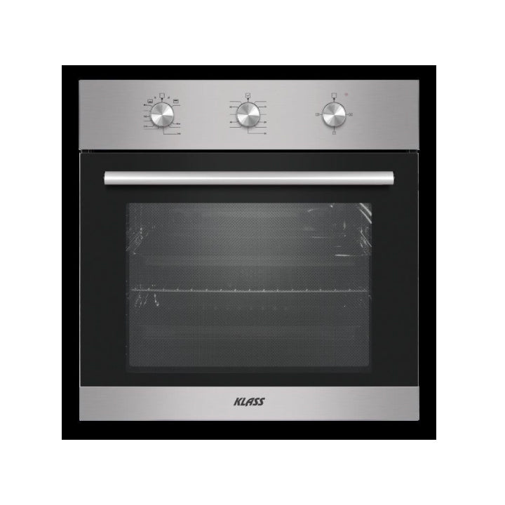 Klass 60cm Built-in Gas Oven in Stainless Steel