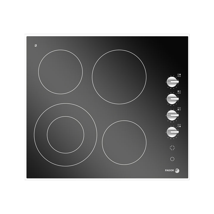 Fagor 60cm Vitro Ceramic  Electric Built in Hob