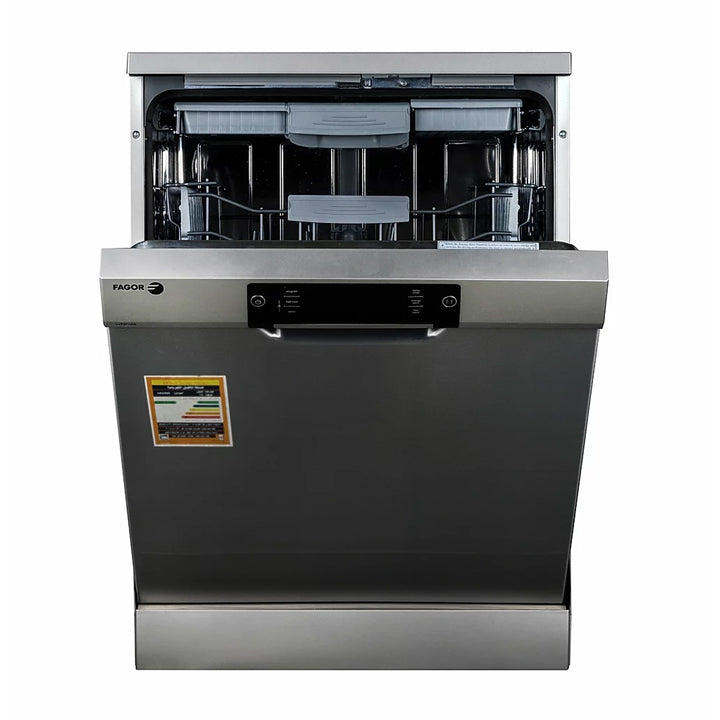 Fagor 60cm Free Standing Dishwasher 9L 15 Place