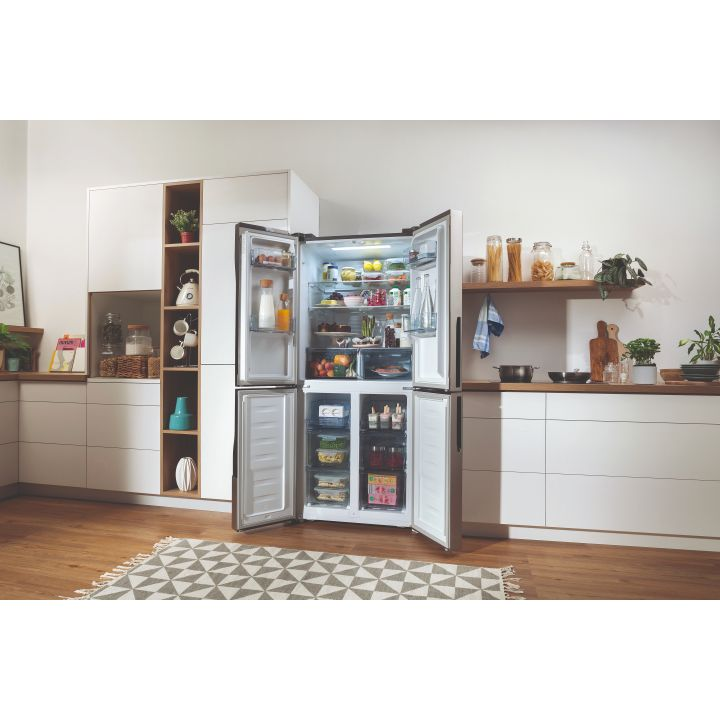 Gorenje 80cm Freestanding Four Door Fridge And Freezer