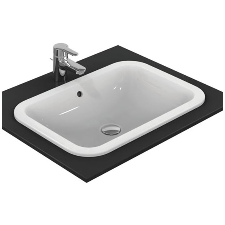 Ideal Standard 'Connect' 58cm Countertop Rectangular Basin in White