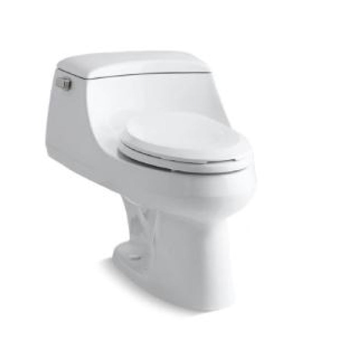 Toilet - San Raphael - One piece elongated 1.6 gpf toilet with Ingenium flush technology