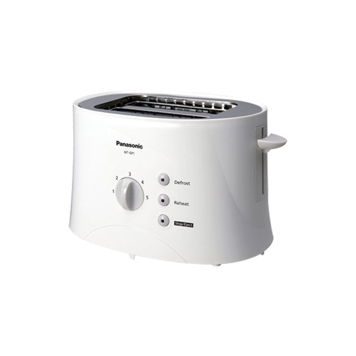 Panasonic 680W Pop-Up Toaster in White