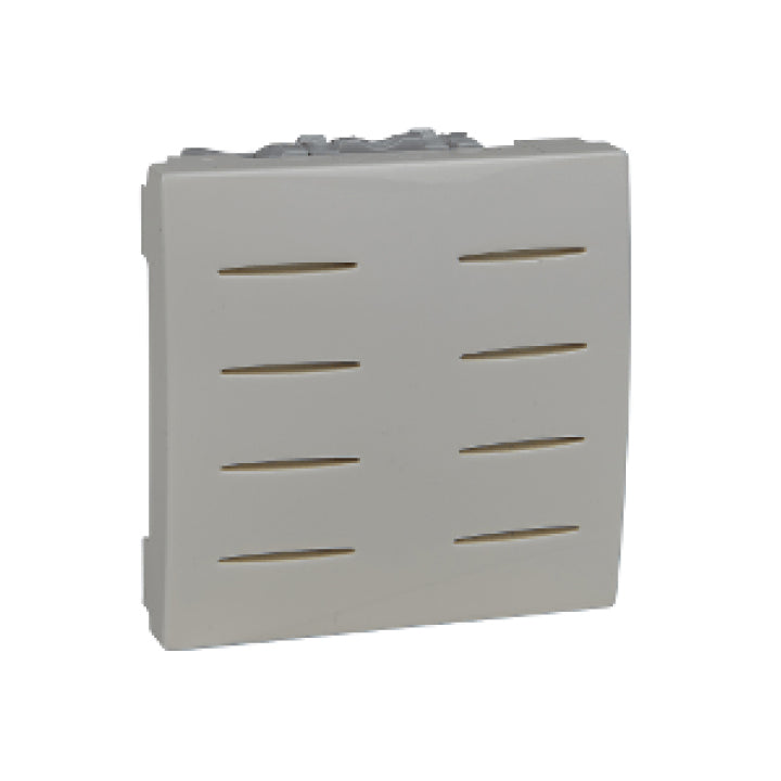 Schneider Electric 'Unica Top/Class' 230V AC Clip-In Buzzer with 2 Modules in Ivory