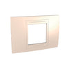 Schneider Electric 'Unica Allegro' Cover Plate 2 Modules  in Cream