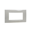 Schneider Electric 'Unica Allegro' Cover Plate 4 Modules  in Ivory