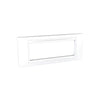 Schneider Electric 'Unica Allegro' Cover Plate 6 Modules  in White
