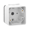 Schneider Electric 'Mureva Styl' Surface Mounted Box 1 Gang in White