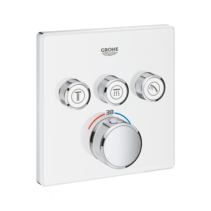 "Grohe ""Grohtherm Smart Control"" Thermostat For Concealed Installation With 3 Valves"