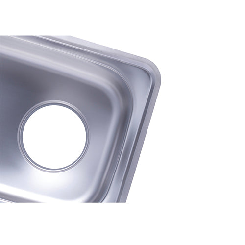 Hans - Stainless steel kitchen sink 870 x 480 mm