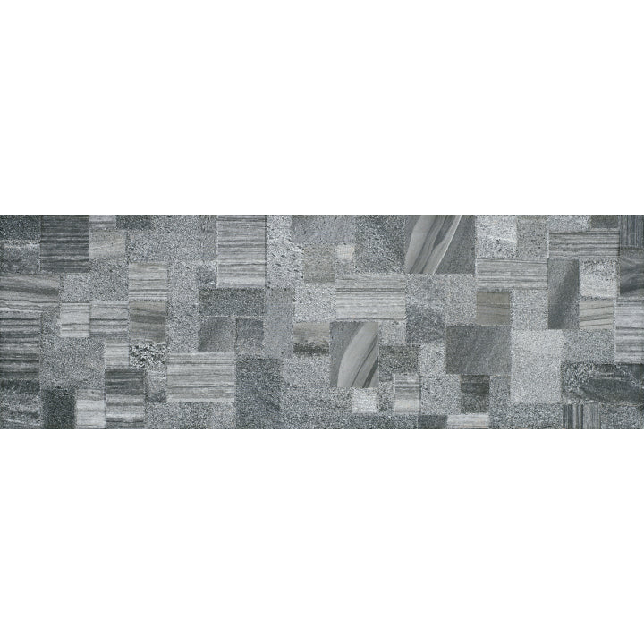 Gemma Glory Anthracite Stone Series 25 x 75 cm Ceramic Wall Tiles