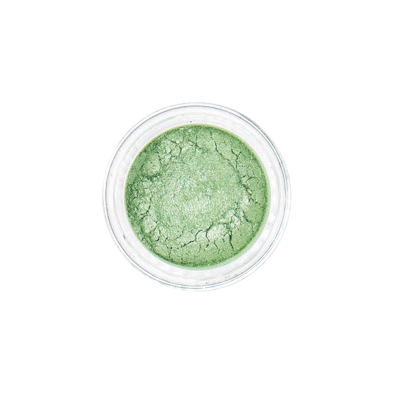 Mineral eyeshadow Lime | Mineral eyeshadow Lime